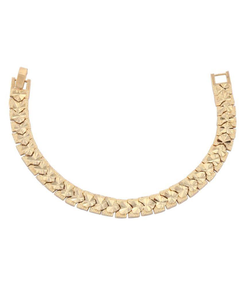 Glory Jewels Golden Bracelet