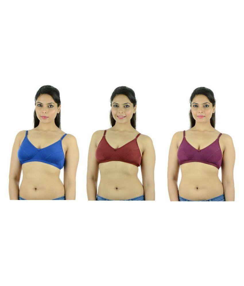 Ishita Fashions Multi Color Cotton Bras