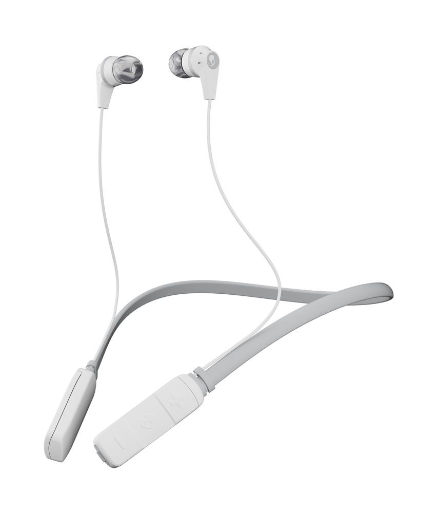 Earphones wireless mic - white skull candy wireless earphones