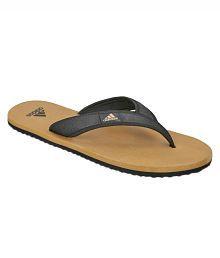 Adidas Black Thong Flip Flop