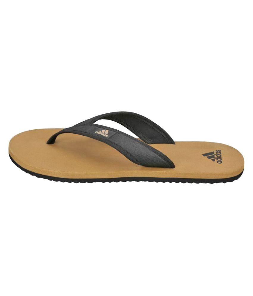 0eca0eb489af41 Adidas Khaki Thong Flip Flop Price in India- Buy Adidas Khaki Thong ...