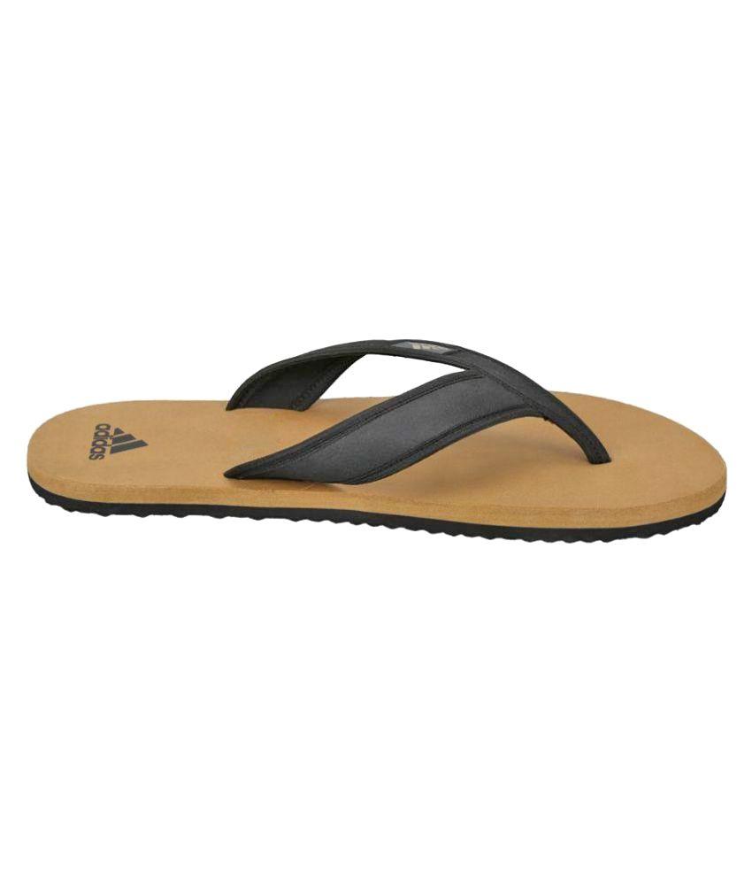 cae070c900a2 Adidas Black Thong Flip Flop Price in India- Buy Adidas Black Thong ...