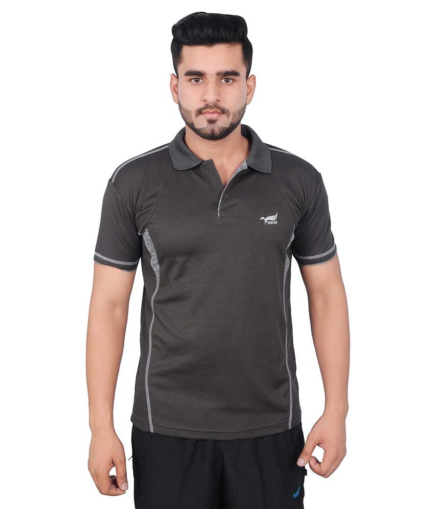 NNN Grey Polo T-Shirt
