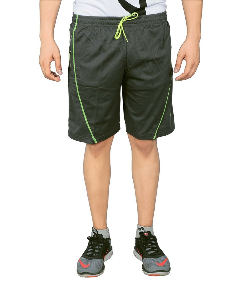 NNN Grey Polyester Shorts