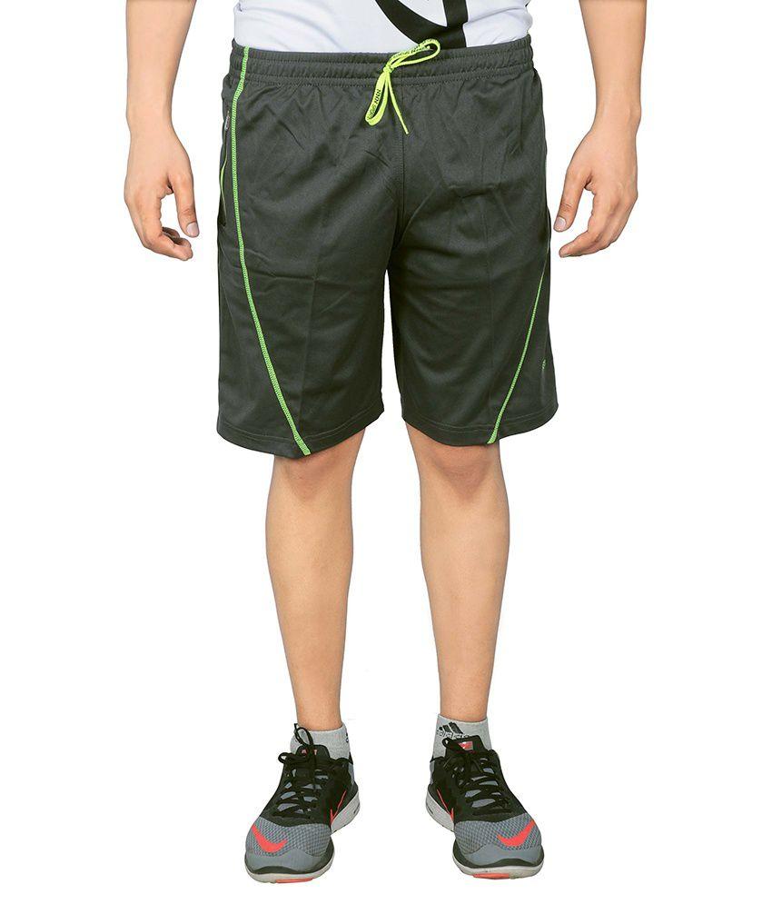 NNN Grey Polyester Shorts