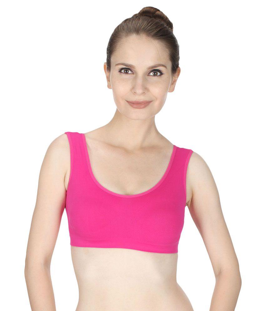 Vloria Pink Lycra Bras