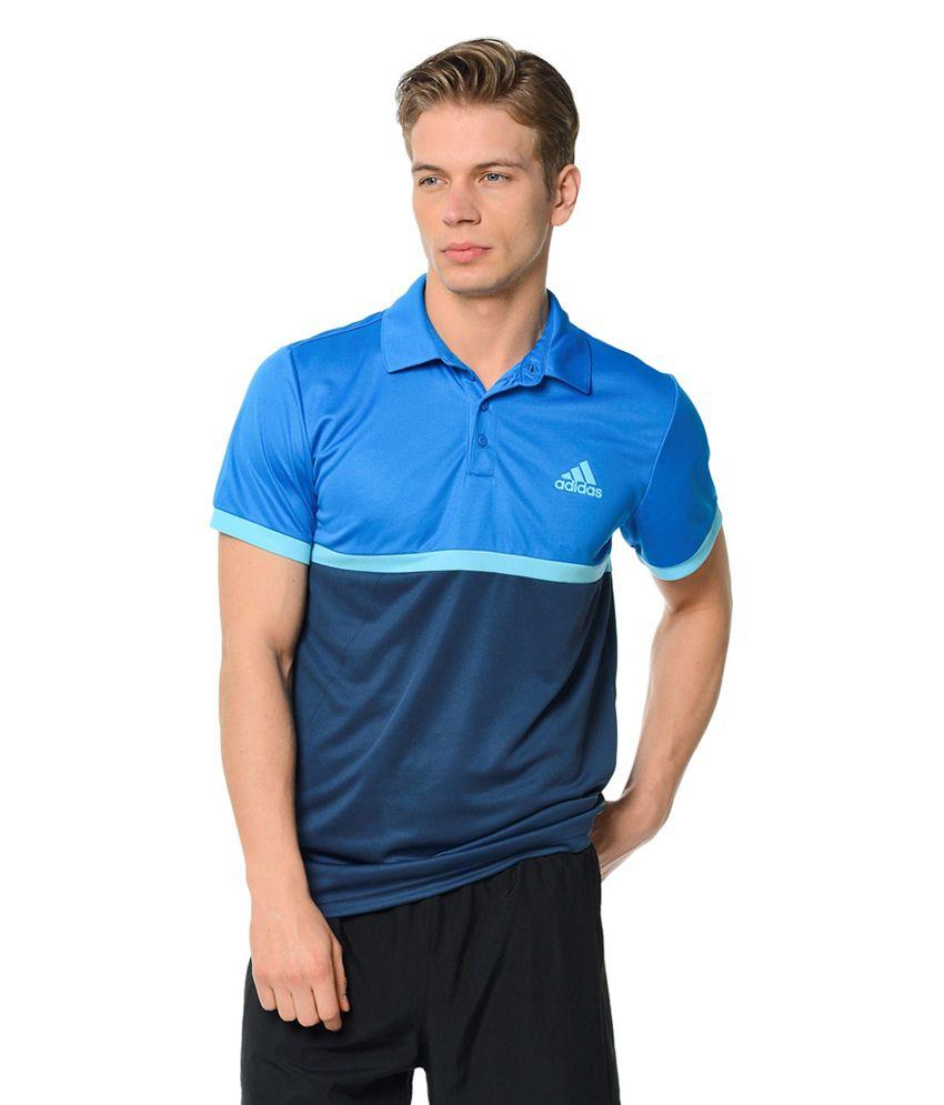 Adidas Blue Men's Polo