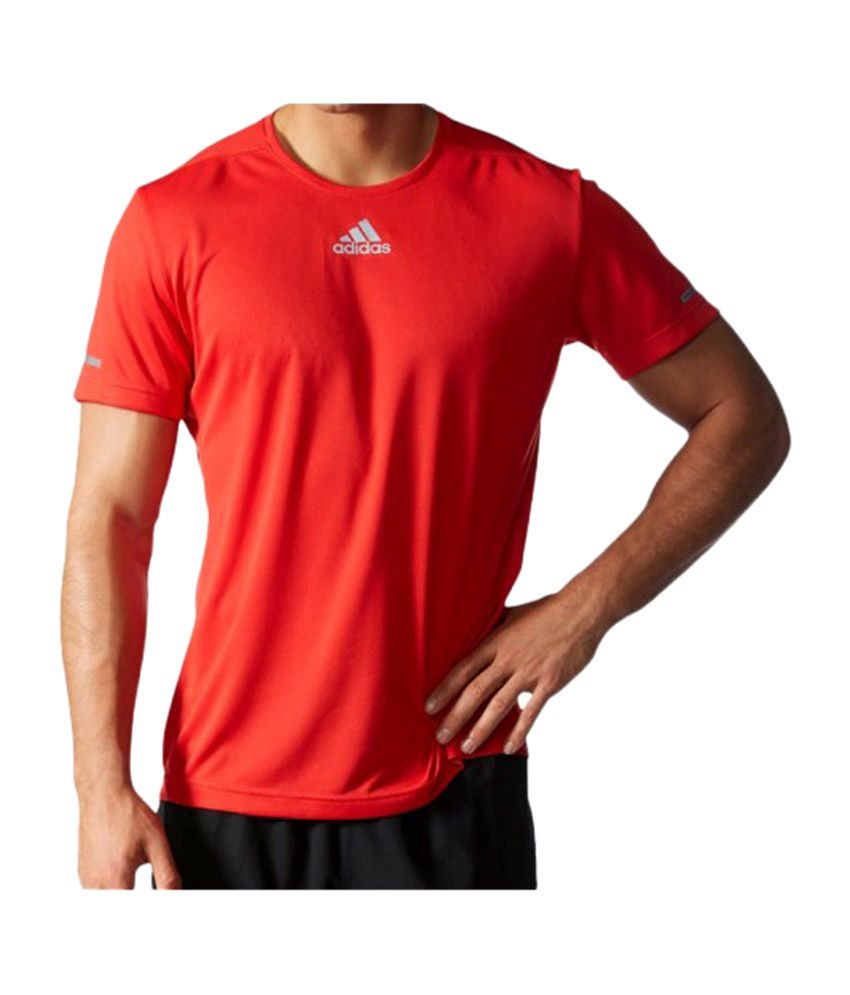 Adidas Red Run T-shirt