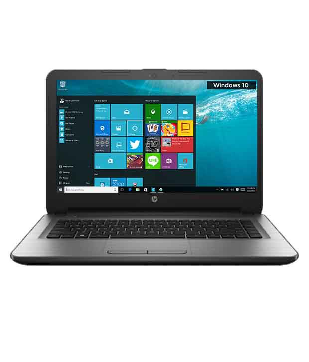 HP 14-AR002TU Notebook (X1G70PA) (5th Gen Intel Core i3- 4GB RAM- 1TB HDD- 35.56 cm (14)- Windows 10) (Silver)