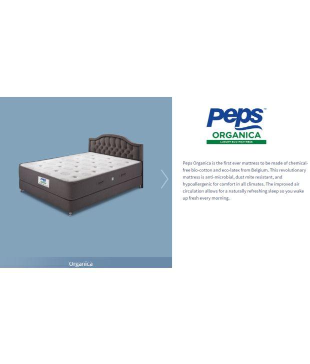 peps organica 8 latex mattress buy peps organica 8 latex mattress rh snapdeal com
