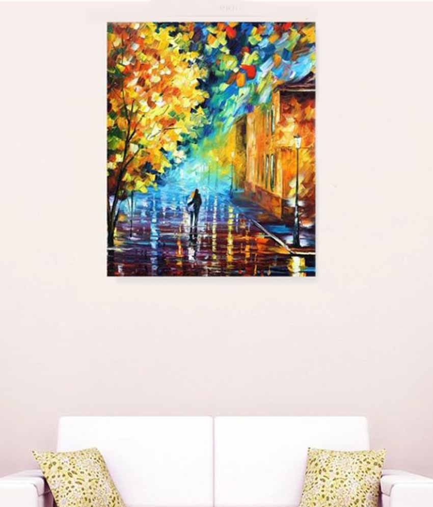 Alone Romantic Felling Oil Canvas Painting