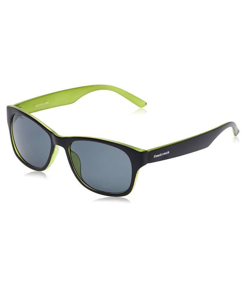 Fastrack Black Wayfarer Sunglasses  fastrack black wayfarer sunglasses pc001bk24 fastrack