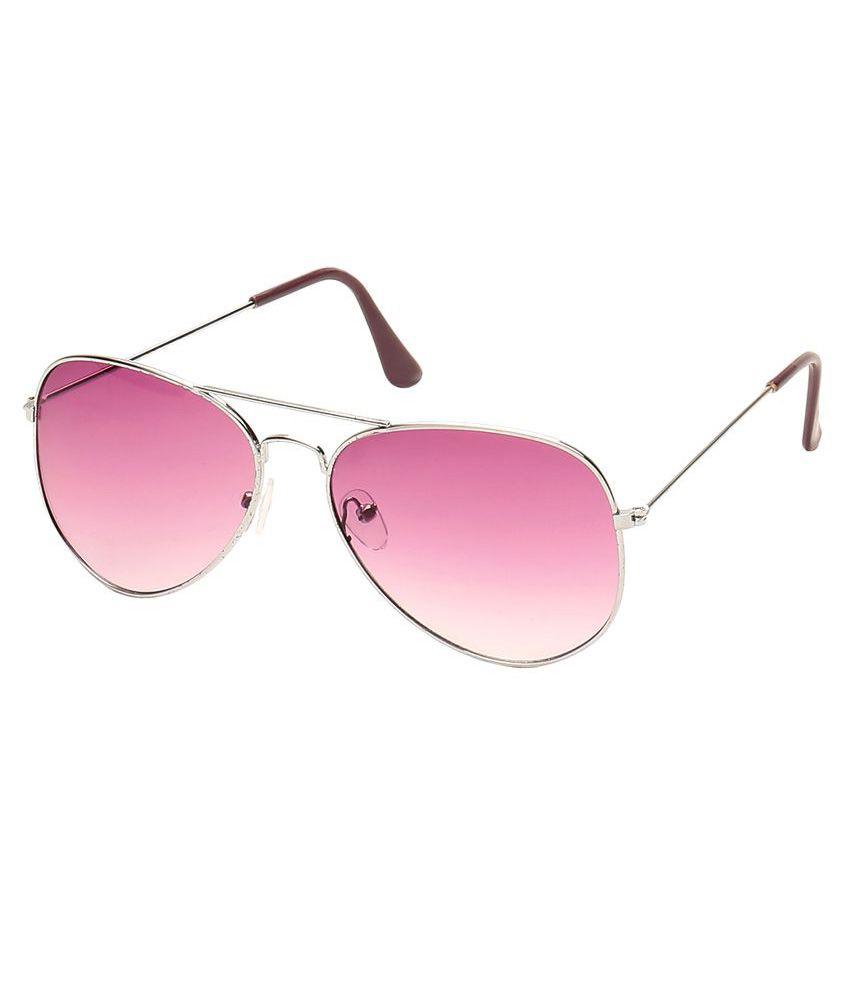Camerii Pink Aviator Sunglasses ( SA16_DR )