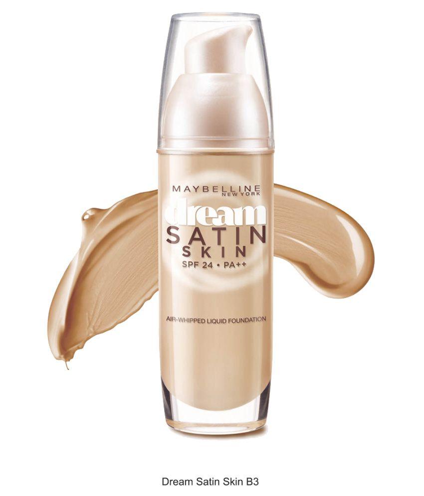 Maybelline New York Dream Satin Skin Liquid Foundation B5