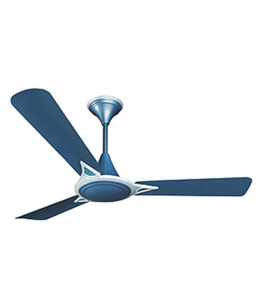 cinni 1200 mm cinni alexander ceiling fan blue price in india