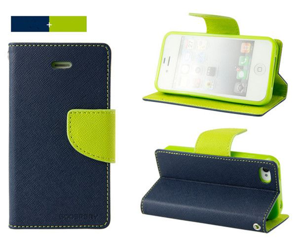 Micromax Canvas Express 2 E313 Flip Cover by GOOSPERY - Blue