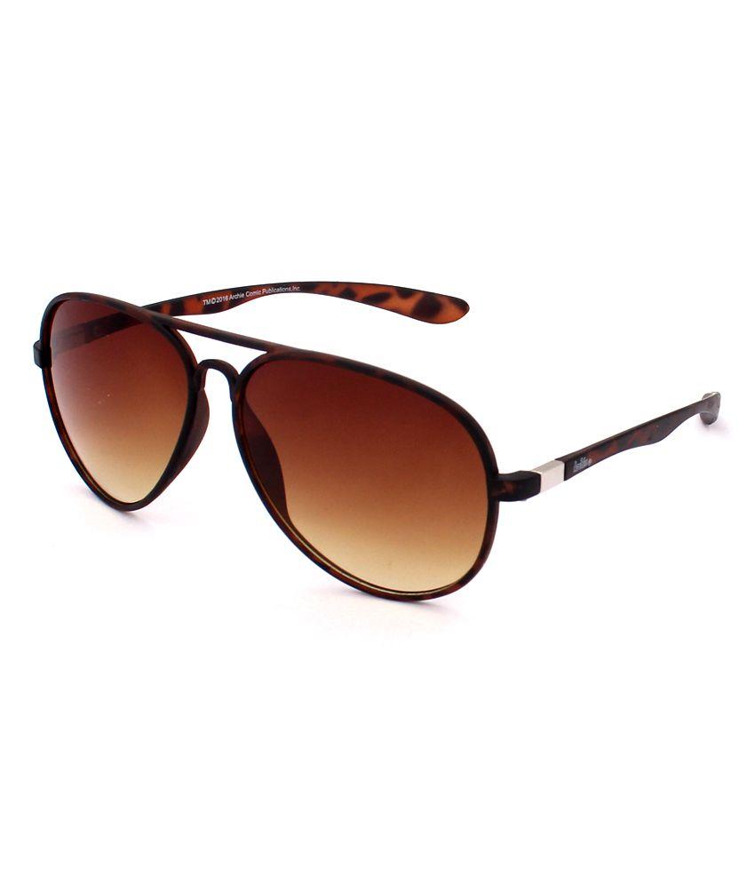 Archie Brown Aviator Sunglasses ( ARH-SG-A-RAS-014-BRN )