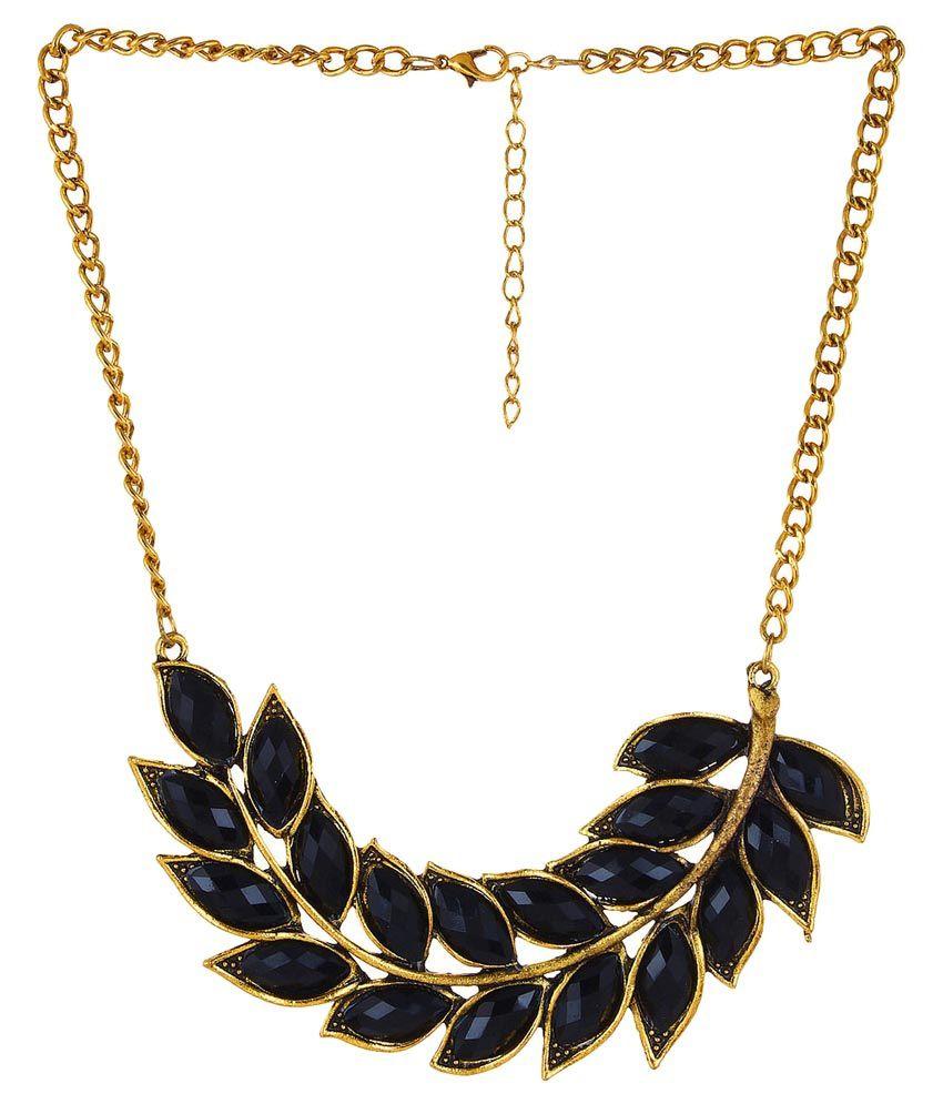 Amour Black Necklace