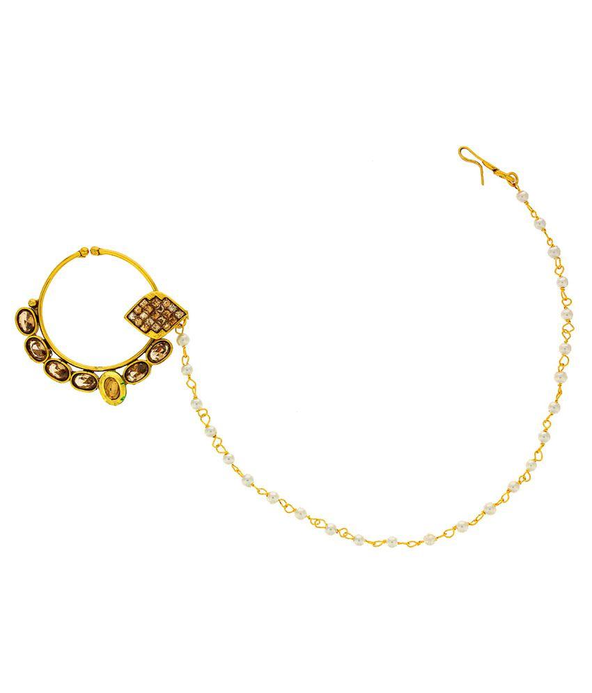 Anuradha Art Golden Nosering