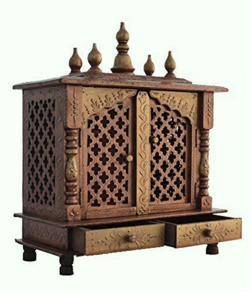 Jodhpur Handicrafts Brown Wood Hanging Mandir Buy Jodhpur Handicrafts Brown Wood Hanging Mandir