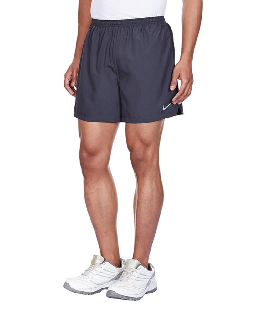 Nike Navy Synthetic Shorts for Men