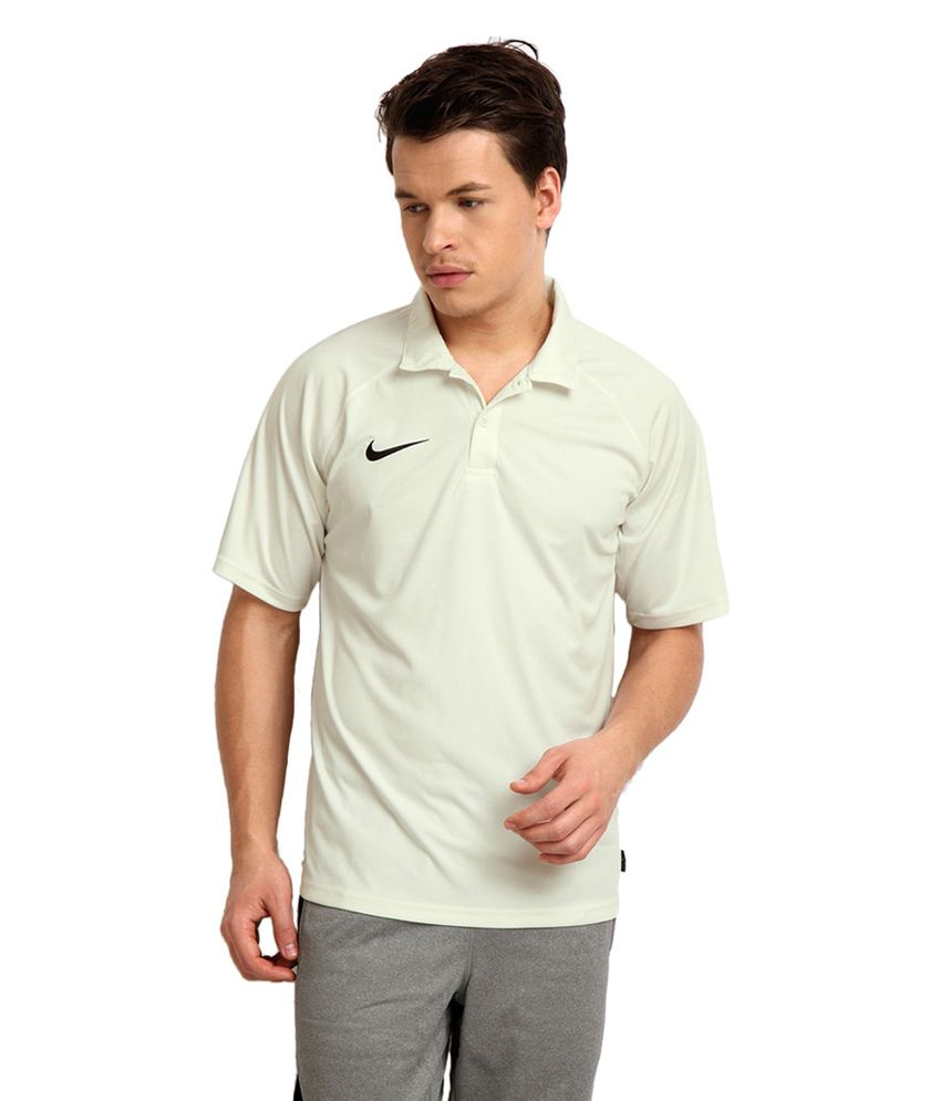 Nike Off-White Test Polo Cricket T-Shirt for Men