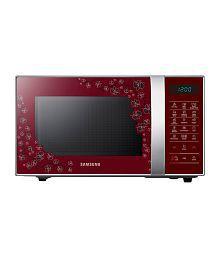Samsung 21 LTR CE77JD-CS Convection Microwave Black