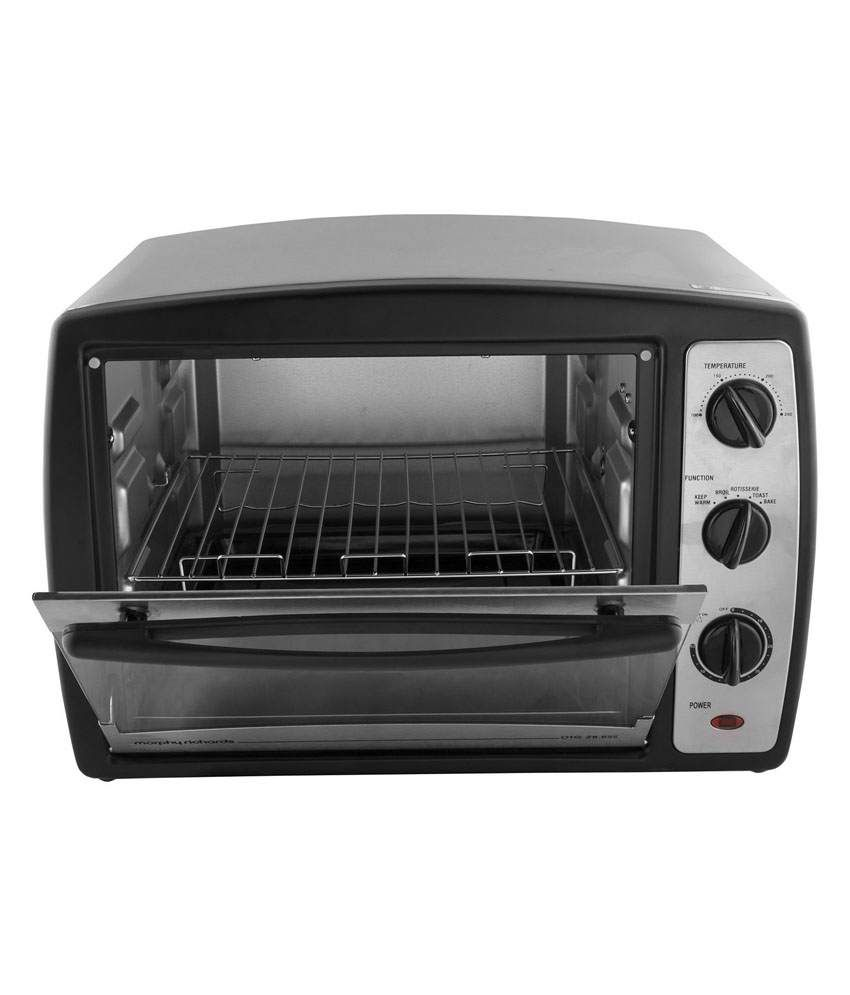 Pc Richards Kitchen Appliances Morphy Richards 28 Ltr 28 R Ss Otg Silver Black Price In India