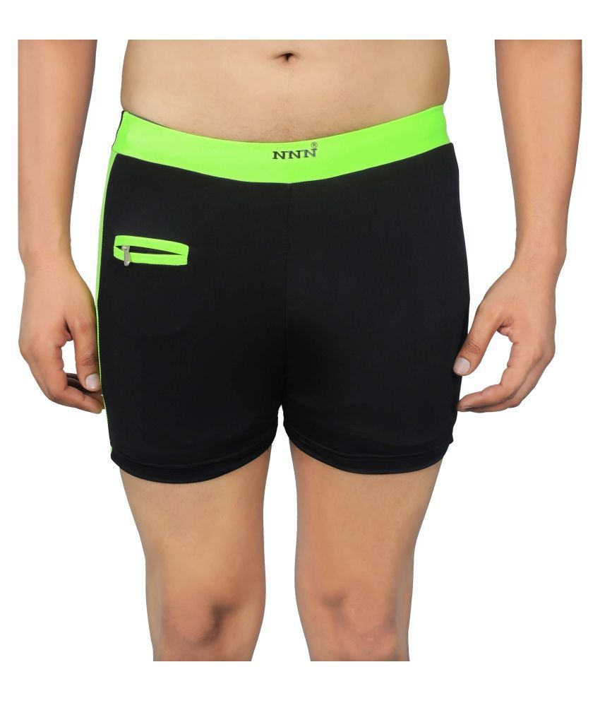 NNN Black Swimming Trunk