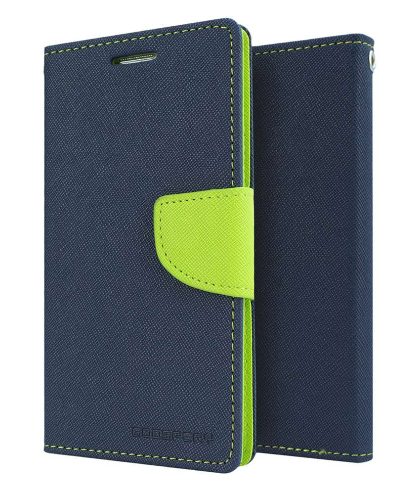 Lenovo K3 Note Flip Cover by GOOSPERY - Blue