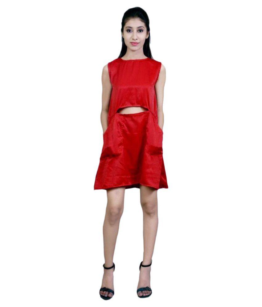 6ecd0bfb2c2af Radharaman Red Velvet Dresses - Buy Radharaman Red Velvet Dresses ...