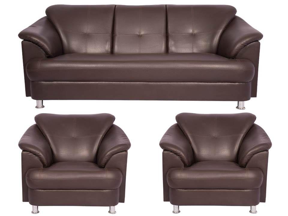 Beau Wood Mark Sentiyago 3+1+1 Sofa Set ...
