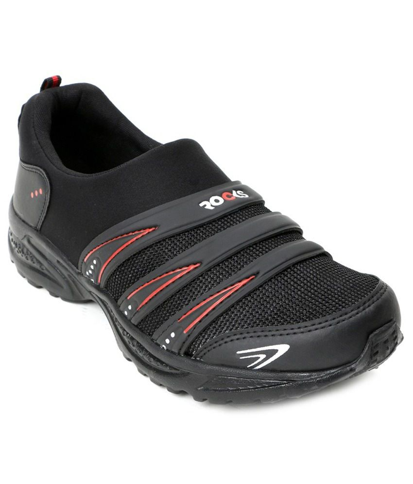 Welcome Black Running Shoes