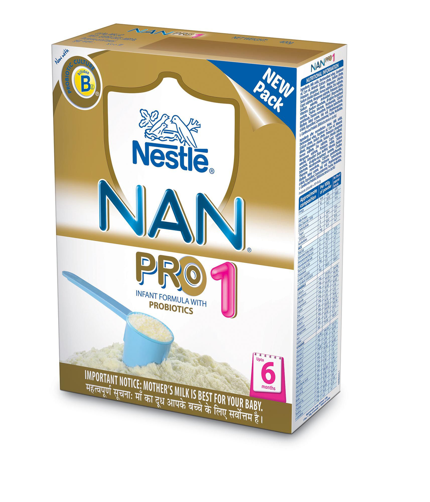 Nestle Nan Stage 1 Infant Formula 400 Gm Buy Nestle Nan