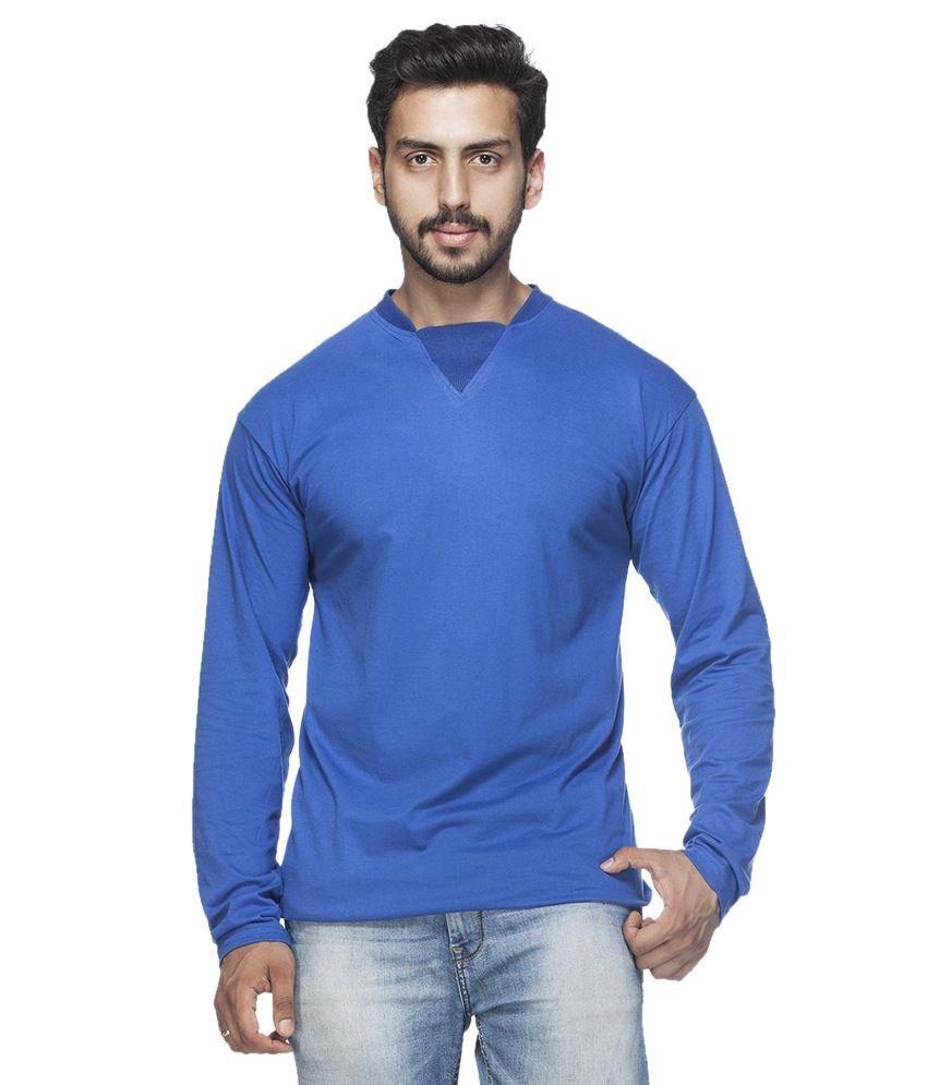 Demokrazy Blue Round T-Shirt
