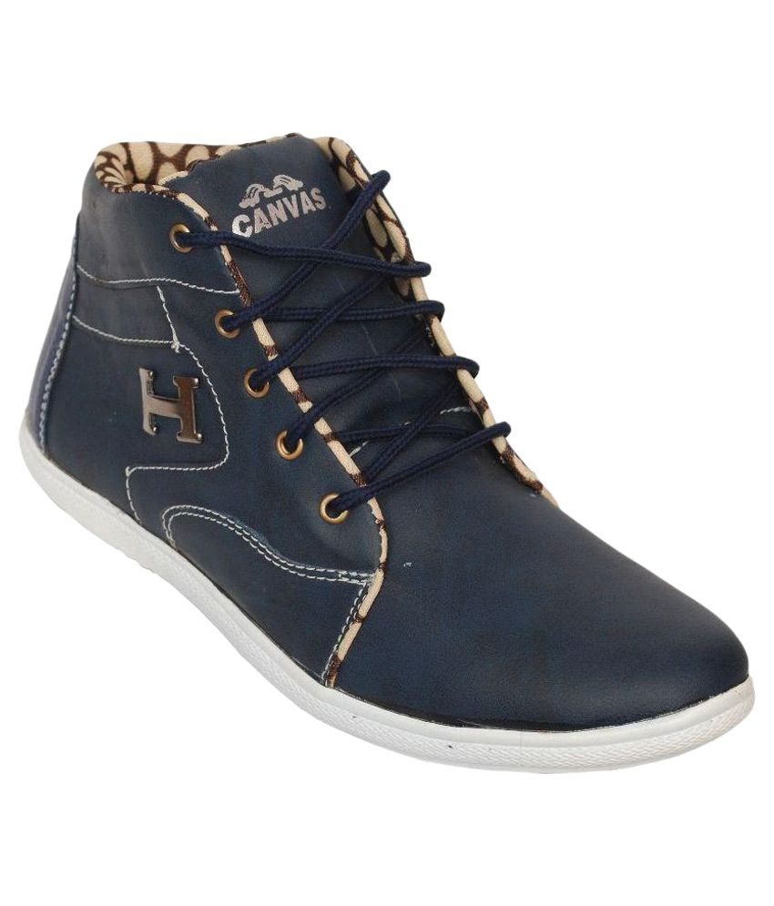 Luxembourg Blue Casual Boot