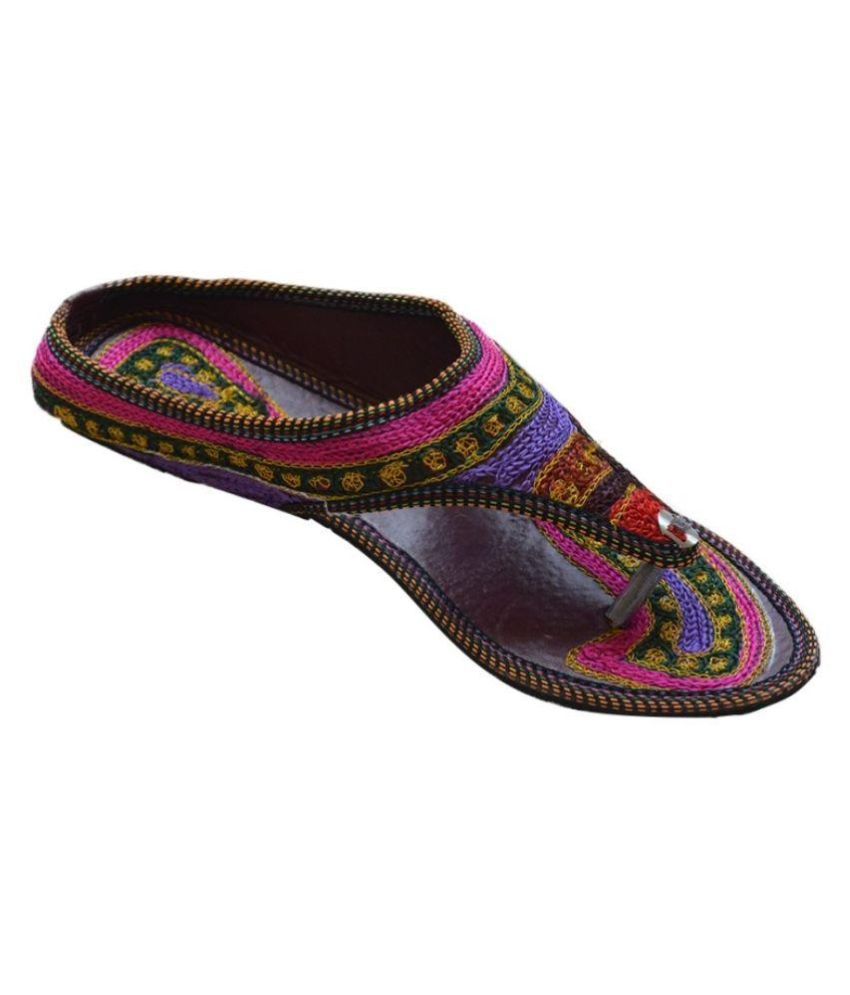 G Multi Color Flat Flats