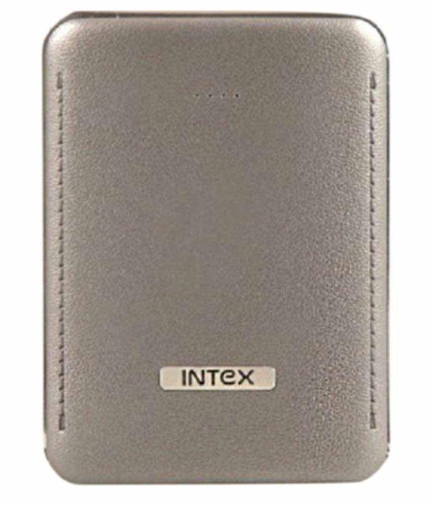 Intex PB-6K 6000 mAh Power Bank - Grey