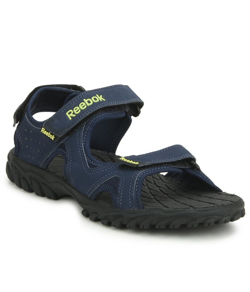 3e2c4455eee7e0 Reebok Reebel Navy Floater Sandals - Buy Reebok Reebel Navy Floater Sandals  Online at Best Prices in India on Snapdeal