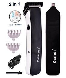 Kemei KM-3560 Beard and Nose Trimmer (Black)