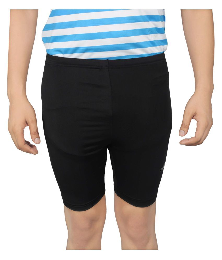 NNN Black Lycra Cycling Shorts