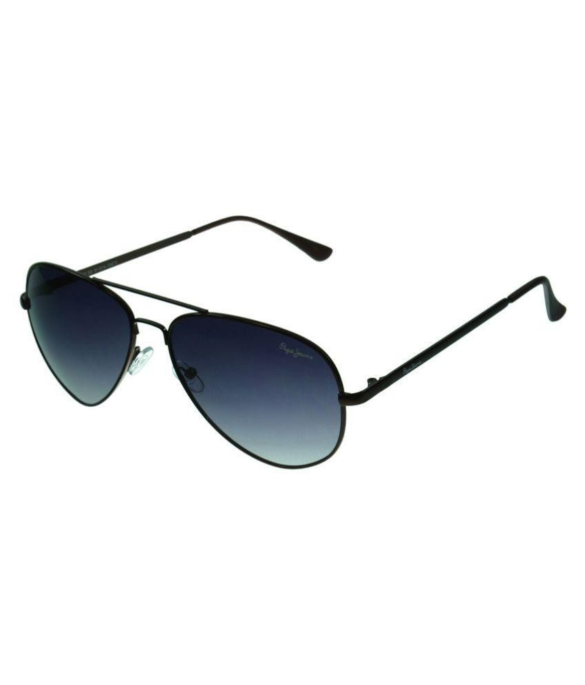 c421956a0e9 Pepe Jeans Black Aviator Sunglasses ( PJ5111C2 ) - Buy Pepe Jeans Black Aviator  Sunglasses ( PJ5111C2 ) Online at Low Price - Snapdeal