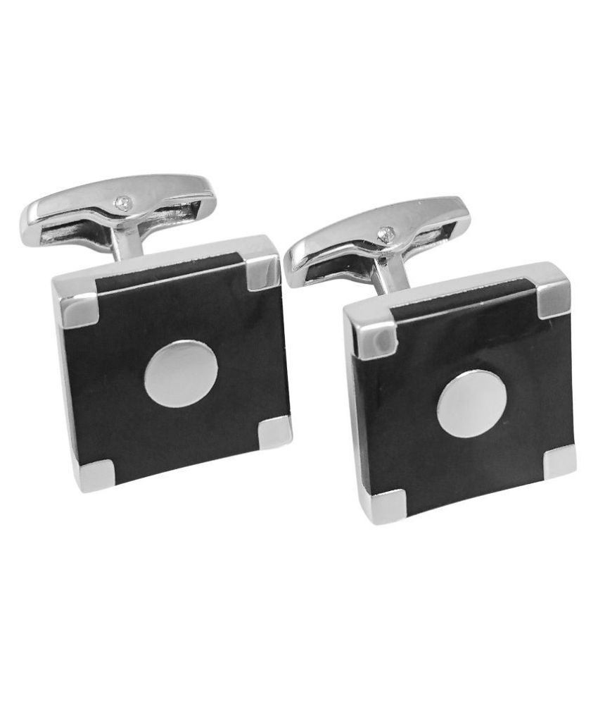 Ammvi Creations Multicolour Cufflinks for Men