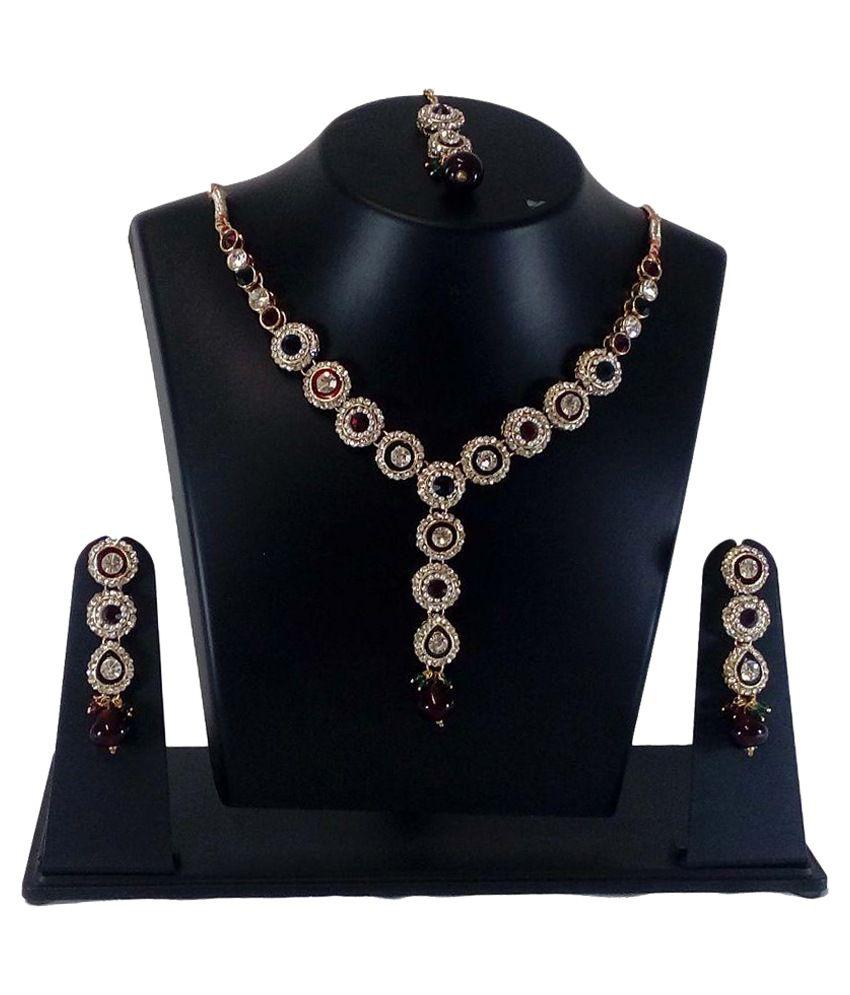 Non Branded Multicolor Necklaces Set
