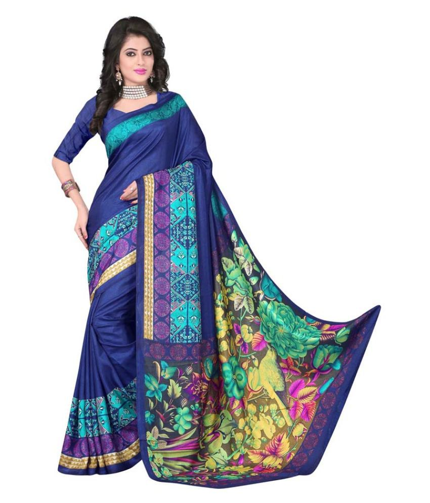 Winza Designer Multicoloured Art Silk Saree