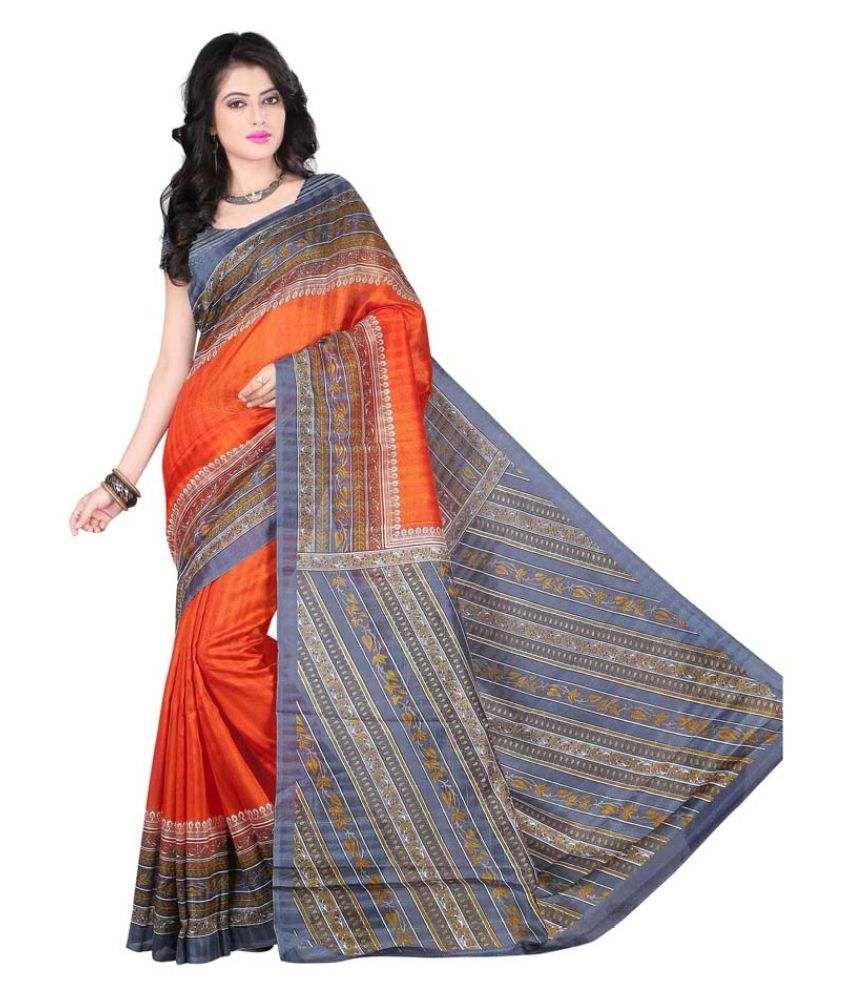 Winza Designer Multicoloured Cotton Saree