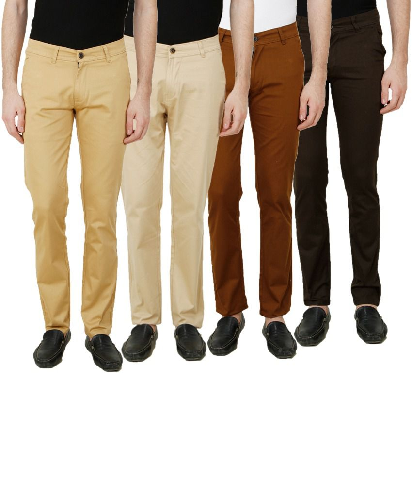 D-Rock Multi Regular Fit Chinos