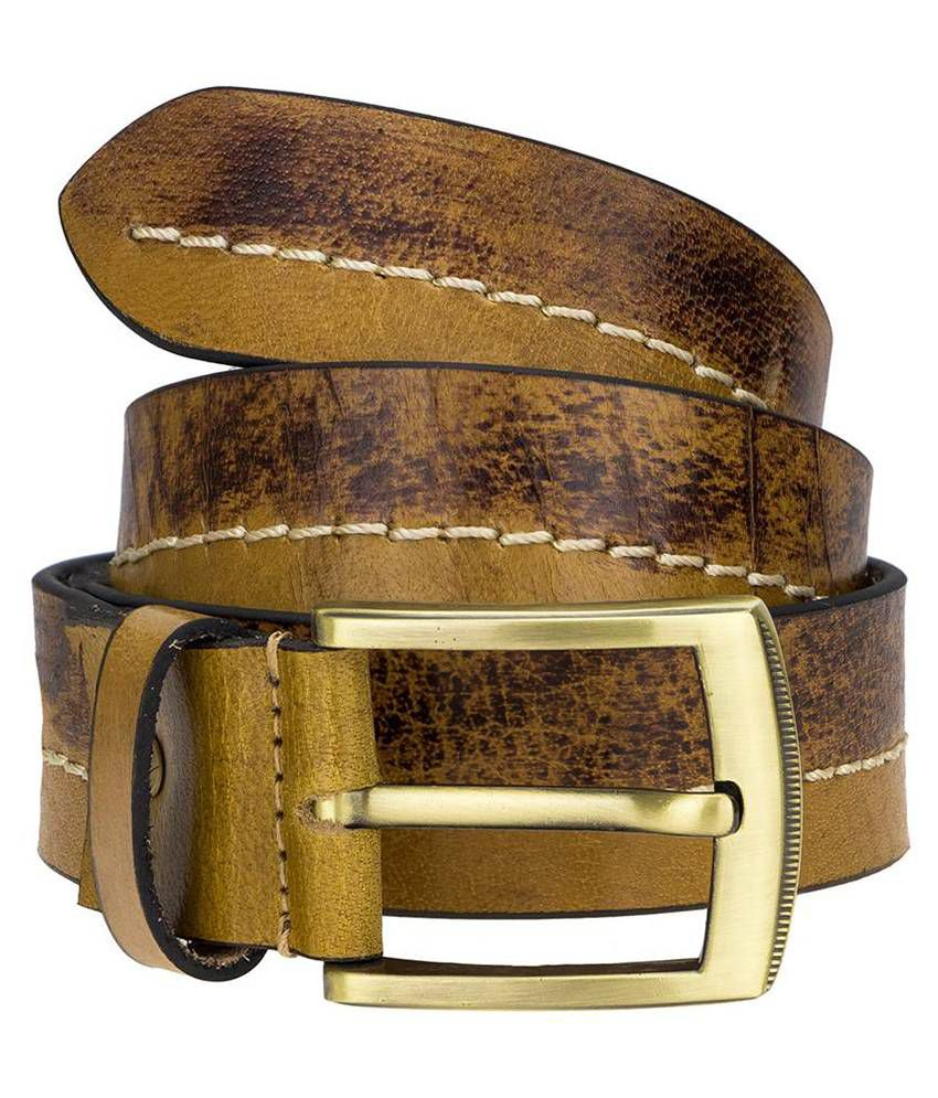 Genious Multicolour Casual Belt for Men