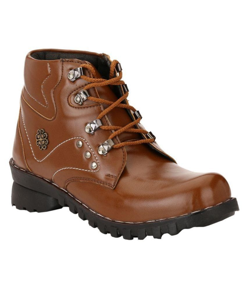 Dishant Traders Brown Casual Boot