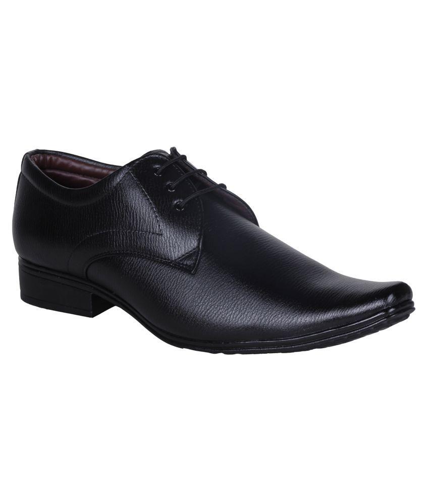 d63b0daf5d09 Emosis Black Formal Shoes Price in India- Buy Emosis Black Formal Shoes  Online at Snapdeal